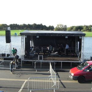The Mobile Stage At The Waterside The National Watersports Centre